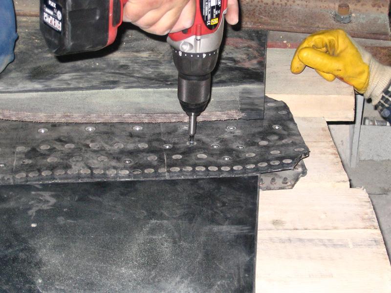połączenia super screw - instalacja (wkrętarka 4)