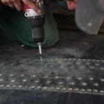 połączenia super screw - instalacja (wkrętarka)