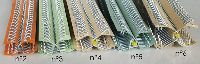 przegląd połączeń drucikowych: 2, 3, 4, 5, 6