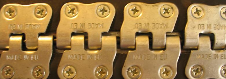 złącze typu MS-35 - złącze do taśm - baner