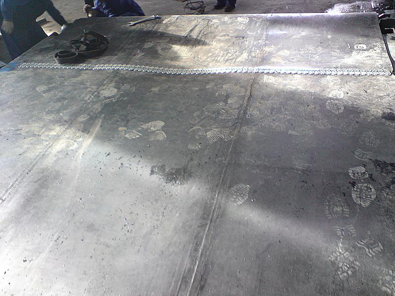 spinka, złącze taśmowe MLT MS 55 do mechanicznej naprawy pasów gumowych(zastosowanie i instalacja 5)