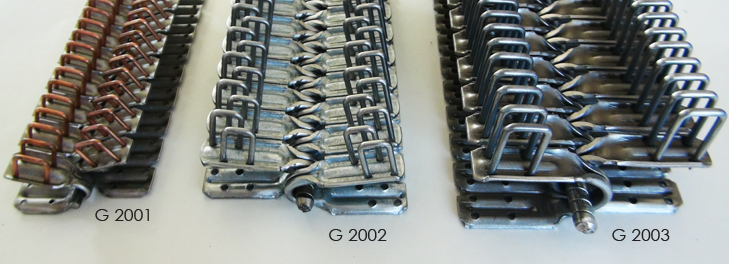 złącza typu G - zestawienie