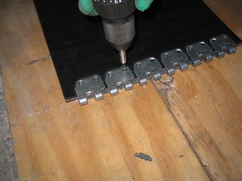 łączenie taśm - złącze MS 45 (instalacja 10)