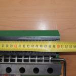 złącza typu G - narzędzie instalacyjne (wymiary)