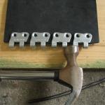 złącze do taśm gumowych MLT MS 35 - przed spięciem (instalacja)