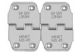 łączenie taśm - złącze MS 45 (obrazek w przybliżeniu)
