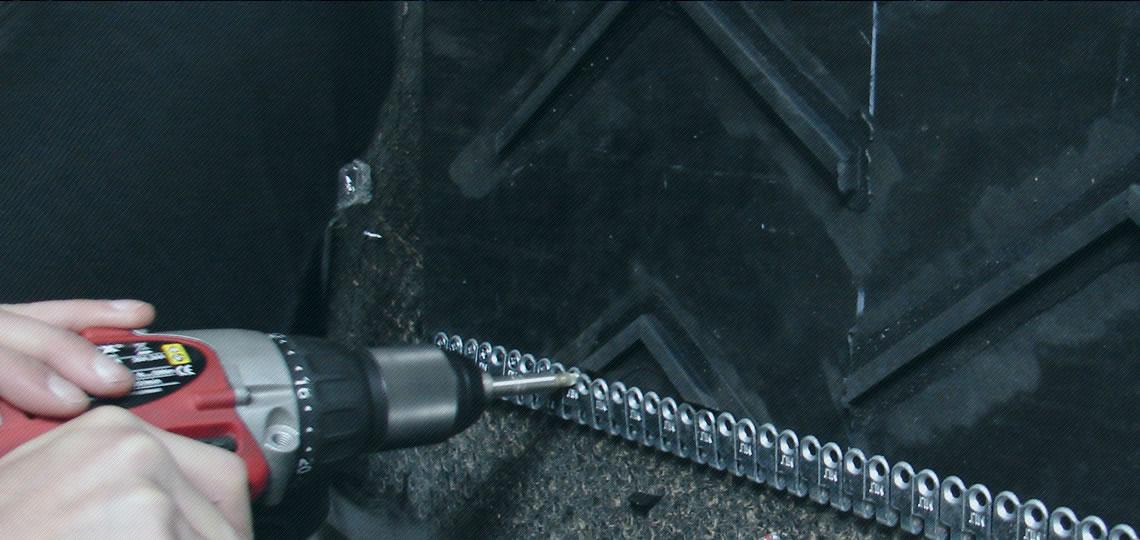 instalacja i narzędzia: złączki, połączenia, zszywki pasów i taśm