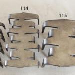 zszywki naprawcze - rozmiary