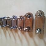 połączenia płytkowe - zestawienie zszywek blaszkowych (rozmiary)