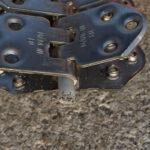 Spinka, Złącze do łączenia i naprawy grubych pasów MS55 - przekrój