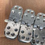 Spinka, złącze mechaniczne MLT MS65 do naprawy grubych pasów gumowych - widok z boku