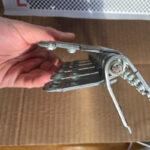 Spinka, złącze mechaniczne MLT MS65 do naprawy grubych pasów gumowych - przekrój złącza